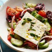 دستور پخت سالاد یونانی