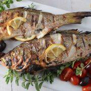 دستور پخت ماهی شکم پر به سبک یونانی