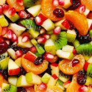 دستور تهیه سالاد میوه