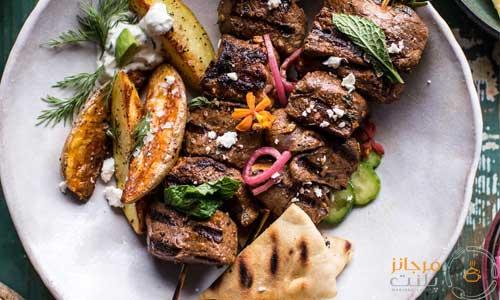 دستور پخت کباب سوفلاکی یونانی