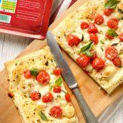 دستور پخت پیتزا ورقه ای