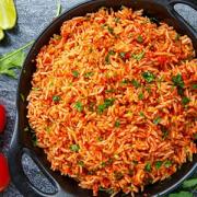 دستور پخت برنج تند مکزیکی